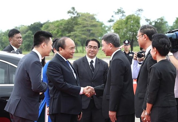 Vietnam, Thailand issue joint statement hinh anh 1