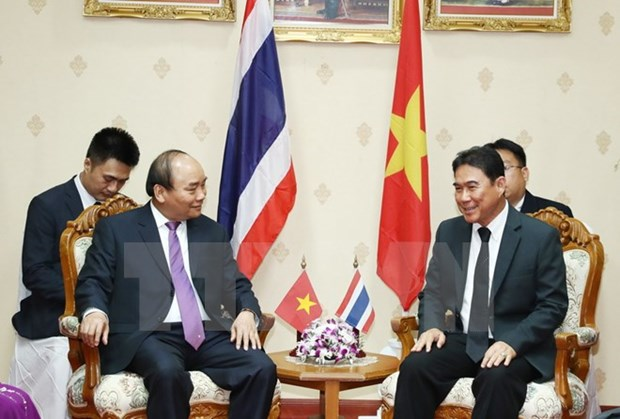 Vietnamese PM works with Governor of Nakhon Pathom hinh anh 1