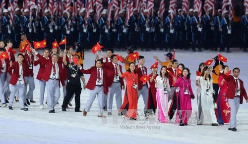 SEA Games 29 officially opens in Malaysia hinh anh 1