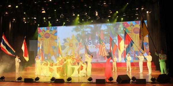 ASEAN Song, Dance and Music Festival held in Vinh Phuc hinh anh 1