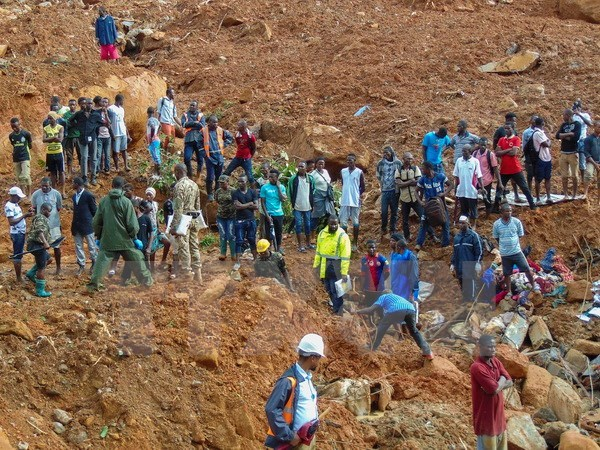 Condolences to Sierra Leone over losses in mudslide disaster hinh anh 1