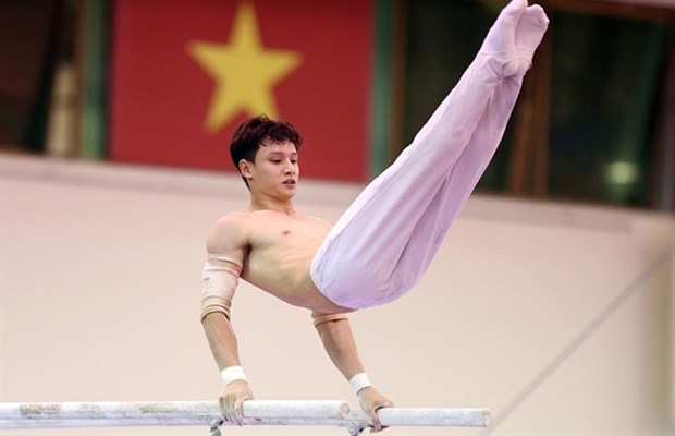 Gymnasts to overcome challenges at Malaysia SEA Games hinh anh 1