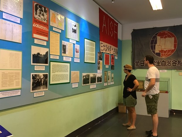 Exhibition features Japanese support to Vietnam during war hinh anh 1