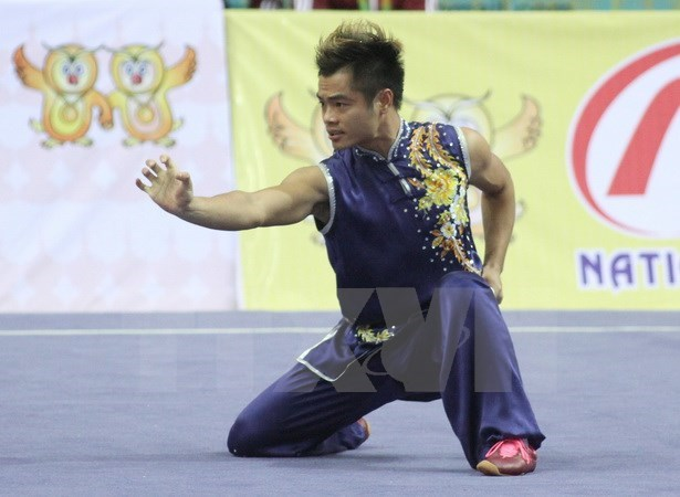 SEA Games 29: Vietnam wins two silver medals in Wushu hinh anh 1