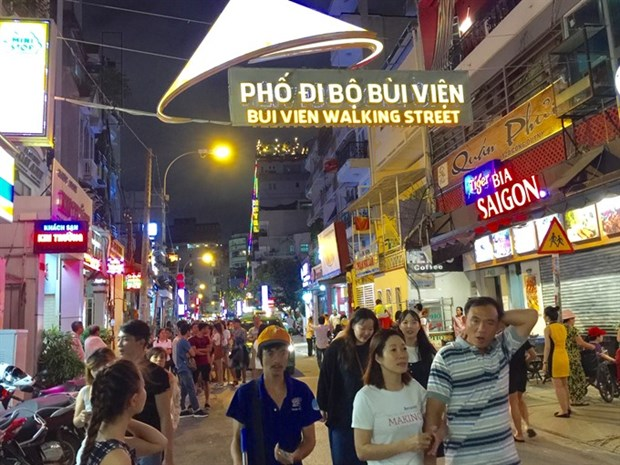 HCM City: Bui Vien pedestrian street opens for tourists hinh anh 1