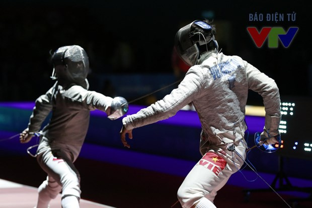 SEA Games 29: Vietnam bags 7th gold with fencing hinh anh 1