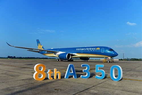 Vietnam Airlines receives eighth Airbus A350 hinh anh 1