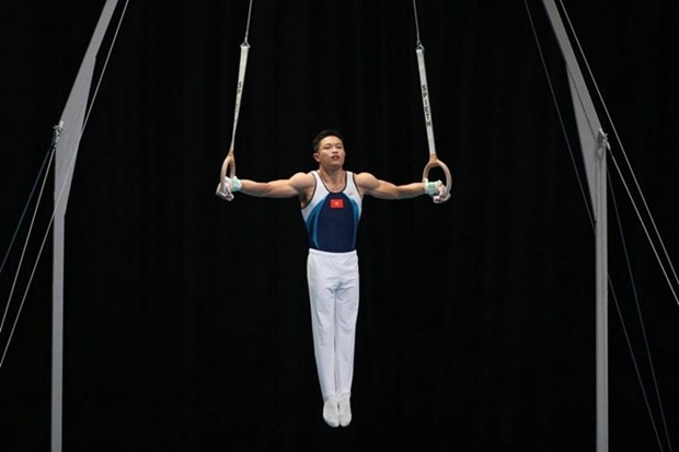 SEA Games 29: Gymnast seizes 9th gold medal for Vietnam hinh anh 1