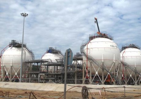 First crude oil batch comes to Nghi Son oil refinery for trial run hinh anh 1