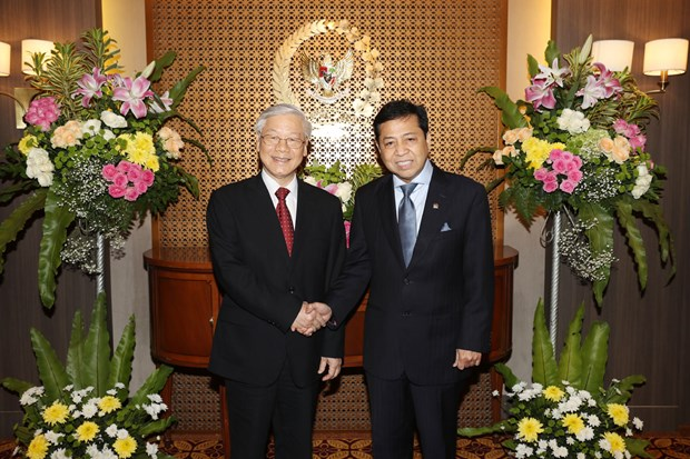Indonesia treasures friendship with Vietnam: lower house speaker hinh anh 1