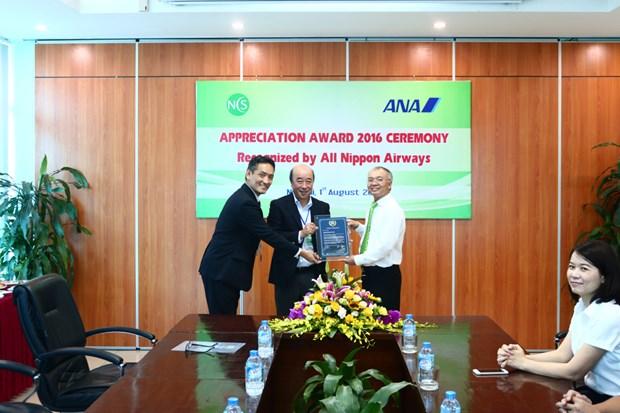 Vietnam Airlines subsidiary receives international award hinh anh 1