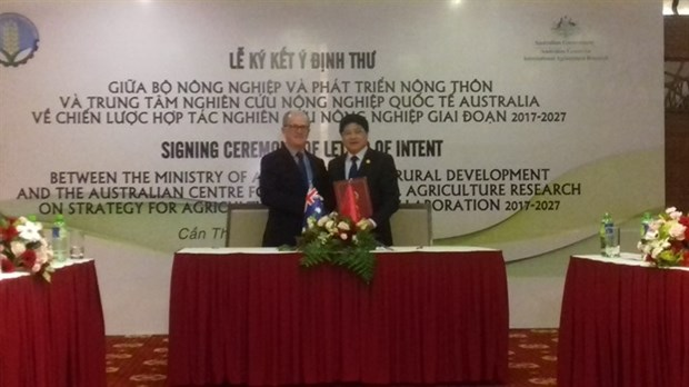 Vietnam, Australia to collaborate in agricultural research hinh anh 1