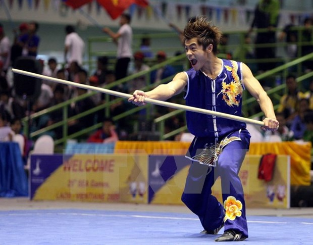 SEA Games 29: Vietnam bags more medals in wushu, archery hinh anh 1