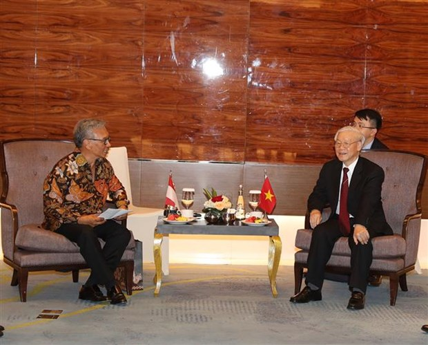 Party leader lauds Indonesia-Vietnam friendship association's efforts hinh anh 1