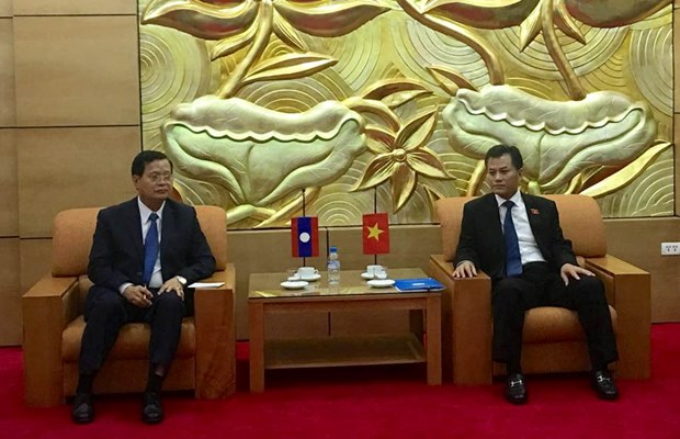 VUFO vows to work for stronger Vietnam-Laos ties hinh anh 1