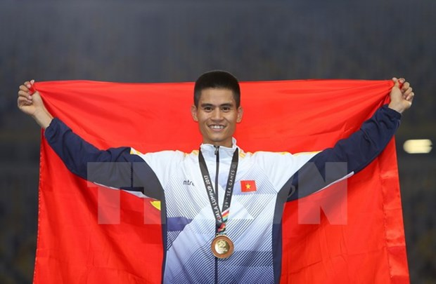 SEA Games 29: Karate, athletics add golds for Vietnam hinh anh 4