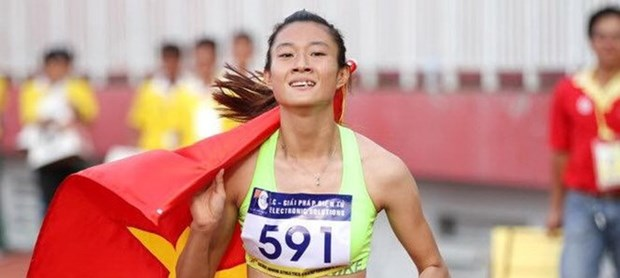 SEA Games 29: Le Tu Chinh wins gold in women's 100 metres hinh anh 1