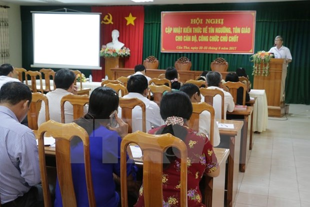 Vietnam, Laos step up religious cooperation hinh anh 1