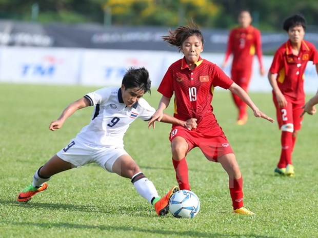 VN, Thailand share opportunity to win SEA Games women's football gold hinh anh 1