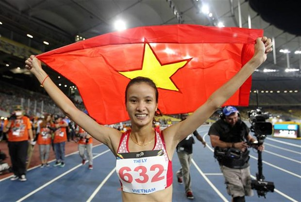 SEA Games 29: Karate, athletics add golds for Vietnam hinh anh 3