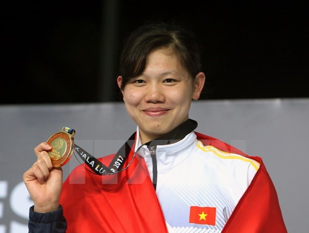 SEA Games 29: Swimmer Vien wins another gold for Vietnam hinh anh 1