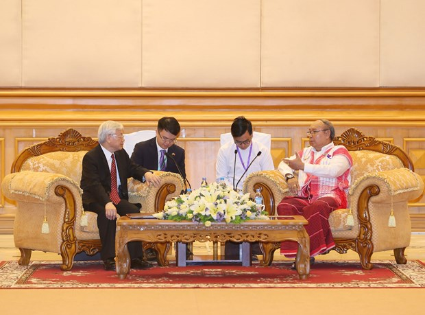 Party leader: Parliamentary ties important to Vietnam-Myanmar relations hinh anh 1