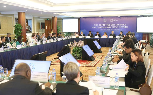 APEC officials continue to debate economic, health issues hinh anh 1
