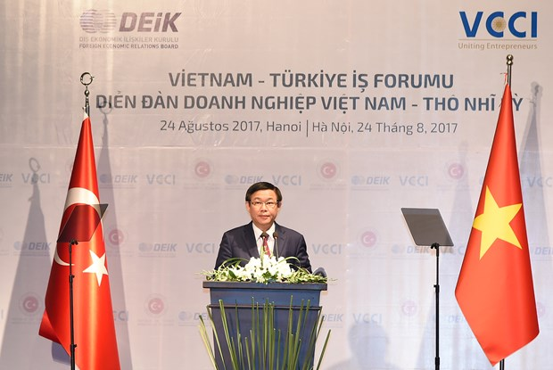 Deputy PM: trade-economic cooperation pillar of Vietnam-Turkey ties hinh anh 1