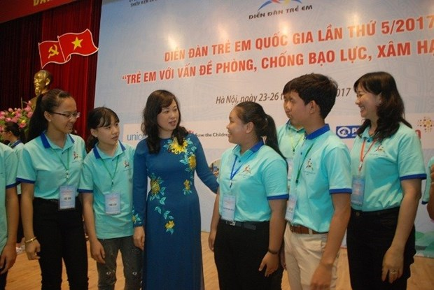 National children's forum opens in Hanoi hinh anh 1
