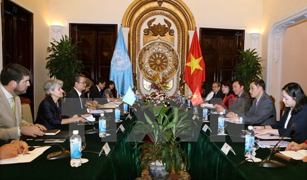 Vietnam hopes to tighten ties with UNESCO hinh anh 1