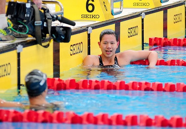 SEA Games 29: Swimmer Anh Vien bags fifth gold hinh anh 1