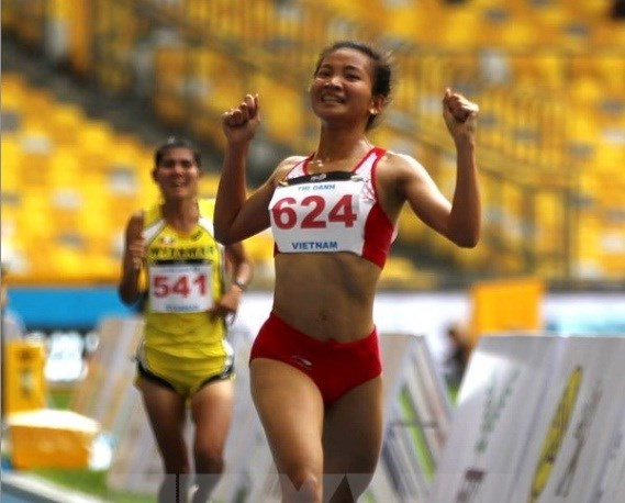 SEA Games 29: Runner Nguyen Thi Oanh bags one more gold hinh anh 1