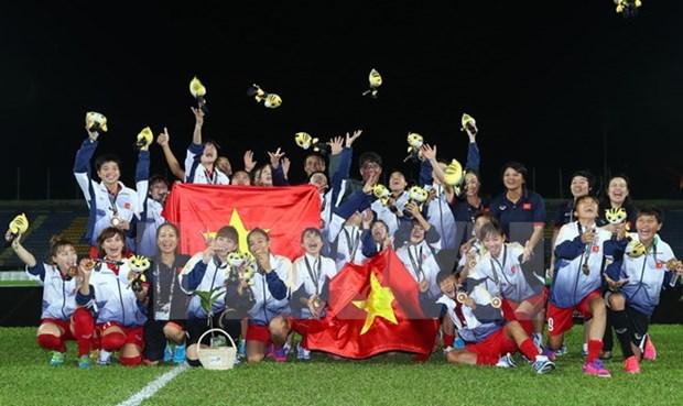 Vietnamese women triumph at SEA Games hinh anh 1