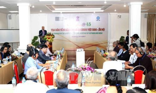 Seminar focuses on Vietnam-India joint civilisation heritage hinh anh 1