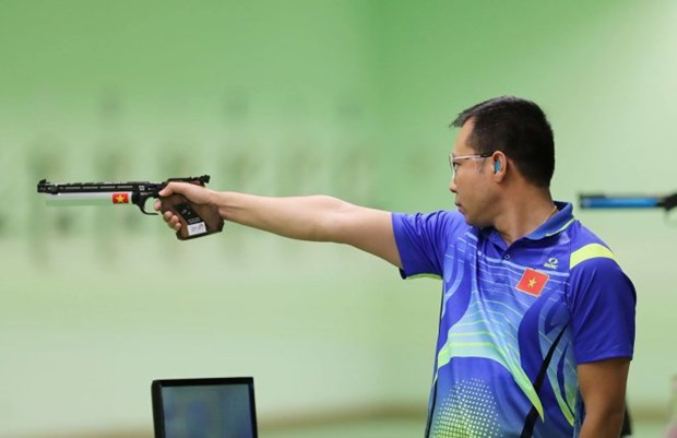 SEA Games 29: Vietnam remains at second place on mid-August 26 hinh anh 1