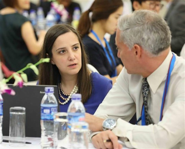 APEC discusses development of Asia-Pacific Free Trade Area hinh anh 1