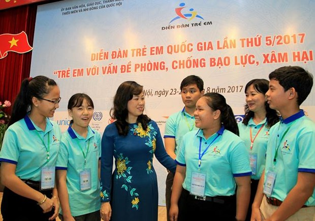 Children raise voice against violence, abuse hinh anh 1