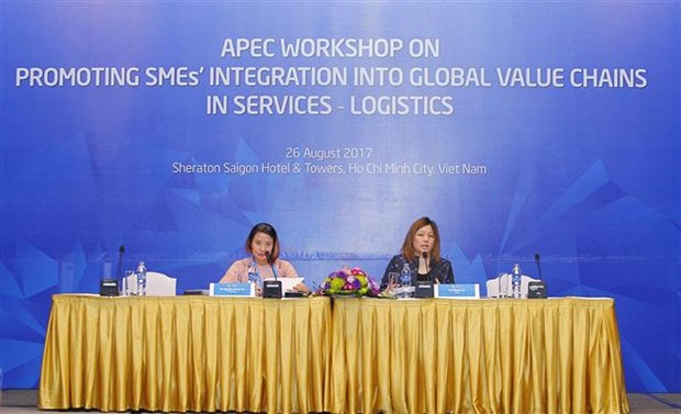 APEC promotes SMEs' integration into global value chains in logistics hinh anh 1