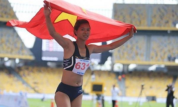 SEA Games 29: athletics, taekwondo take three gold medals hinh anh 1