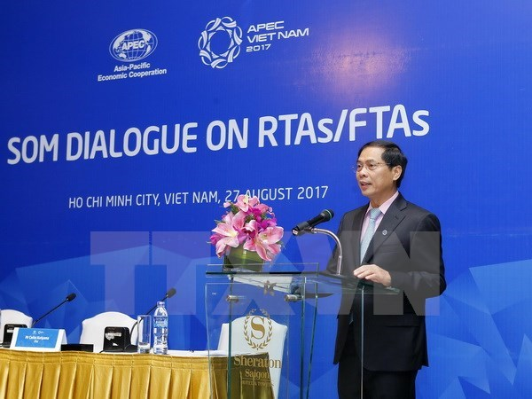 APEC economies share experience in engaging in RTAs/FTAs hinh anh 1