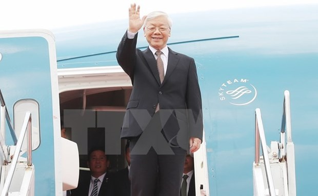 Party General Secretary concludes Indonesia, Myanmar tour hinh anh 1