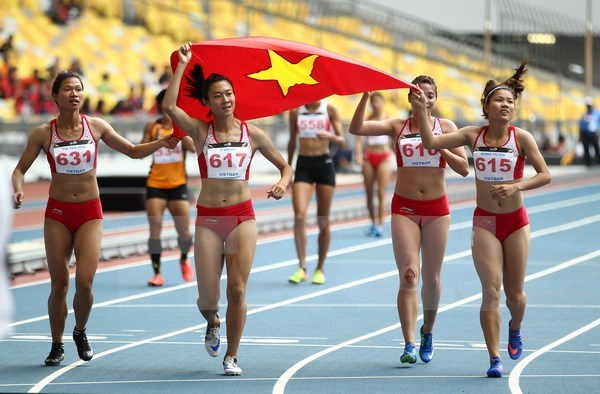 SEA Games 29: Vietnam secures seven more golds on August 26 hinh anh 1