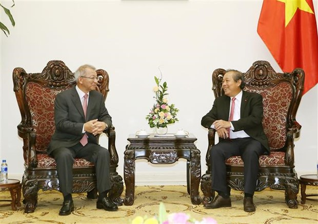 Deputy PM lauds RoK judicial support hinh anh 1