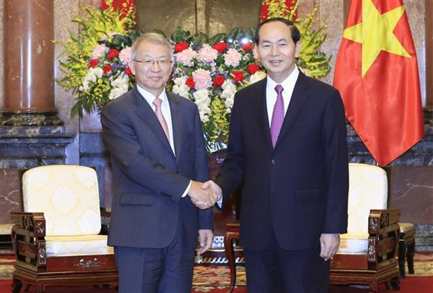 Vietnam values judicial cooperation with RoK: President hinh anh 1