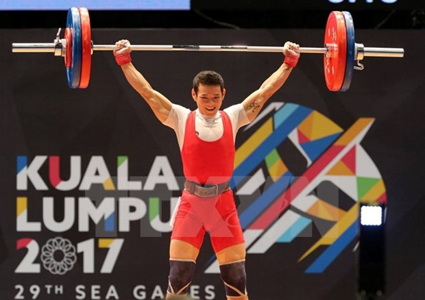 SEA Games 29: Thach Kim Tuan gets gold in weightlifting hinh anh 1