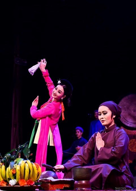 Traditional theatre's performance marks World Reconciliation Day hinh anh 1