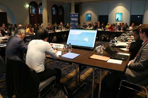 Vietnam attends meeting in Australia to accelerate TPP hinh anh 1