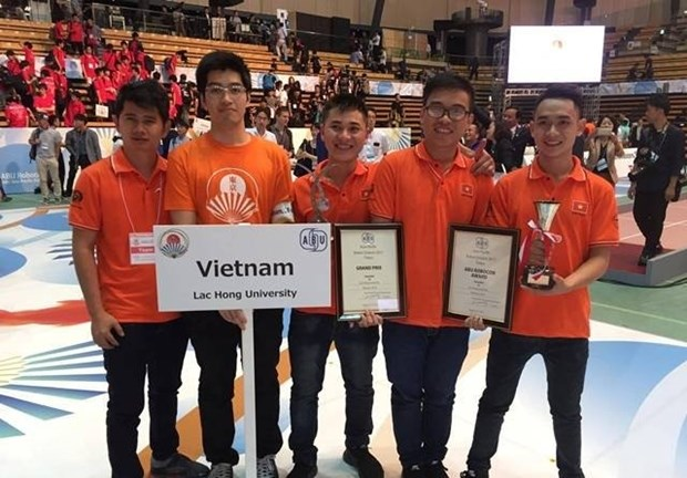 Vietnam wins Asia-Pacific robot contest for sixth time hinh anh 1