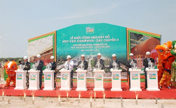 70-million-USD MDF factory opens in Binh Phuoc hinh anh 1