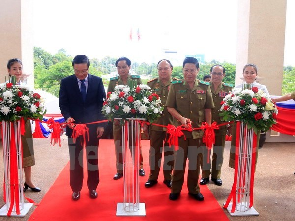 Photos feature cooperation between Vietnamese, Lao security sectors hinh anh 1